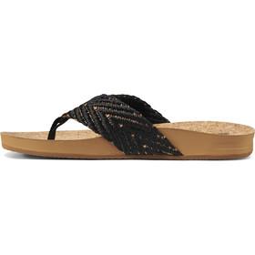 Reef Cushion Strand Sandals Women, black/natural